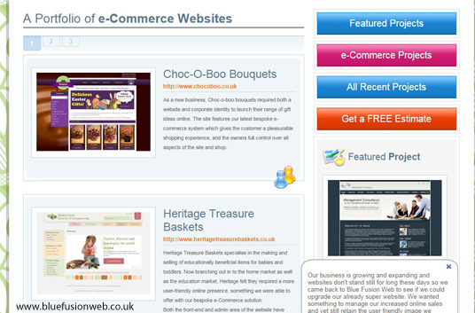 website portfolios