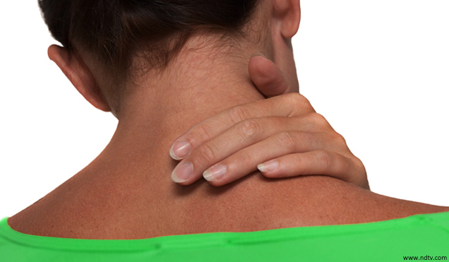 how to cure neck pain