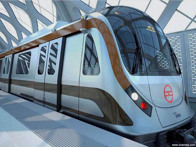 metro train delhi