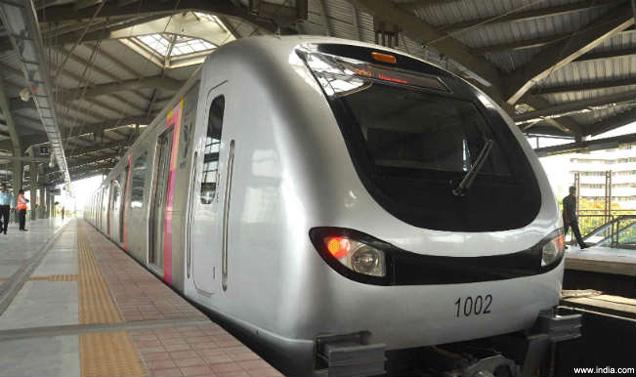 metro rail delhi